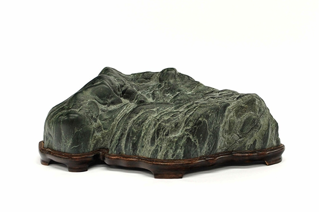 Hand-carved suiseki stone