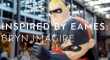 A statue of the Incredibles family with text that reads: Inspired by Eames: Bryn Imagire