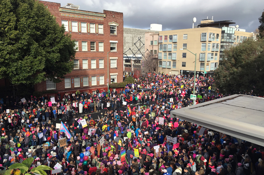 A view of the March from the Museum